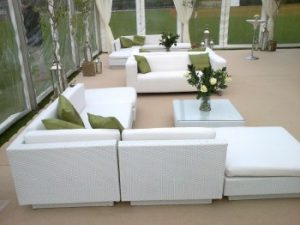 Top 5 Reasons to hire a white sofa for your event