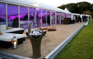 Marquee furniture hire
