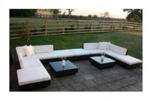 Hiring furniture for your garden party