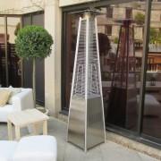 athena patio heater outside