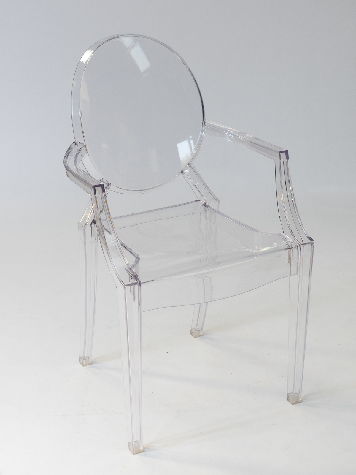 Clear Ghost Chair Hire  Rio Lounge