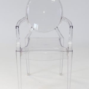 Clear ghost chair hire available