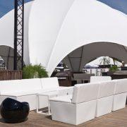 ana mandara sofa modules - hire now for your outdoor event