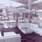 White marrakesh sets at battersea evolution