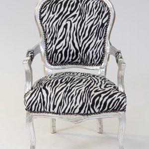 Zebra chair hire services