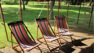 wedding furniture hire - deck chairs