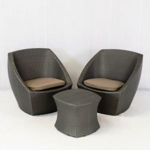 delano tub set - grey for hire