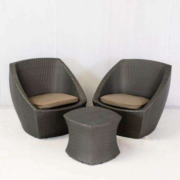 delano tub set - grey for hire