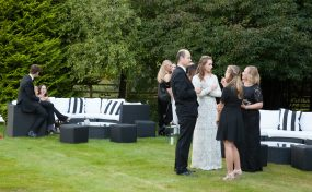black tie garden event outdoor furniture