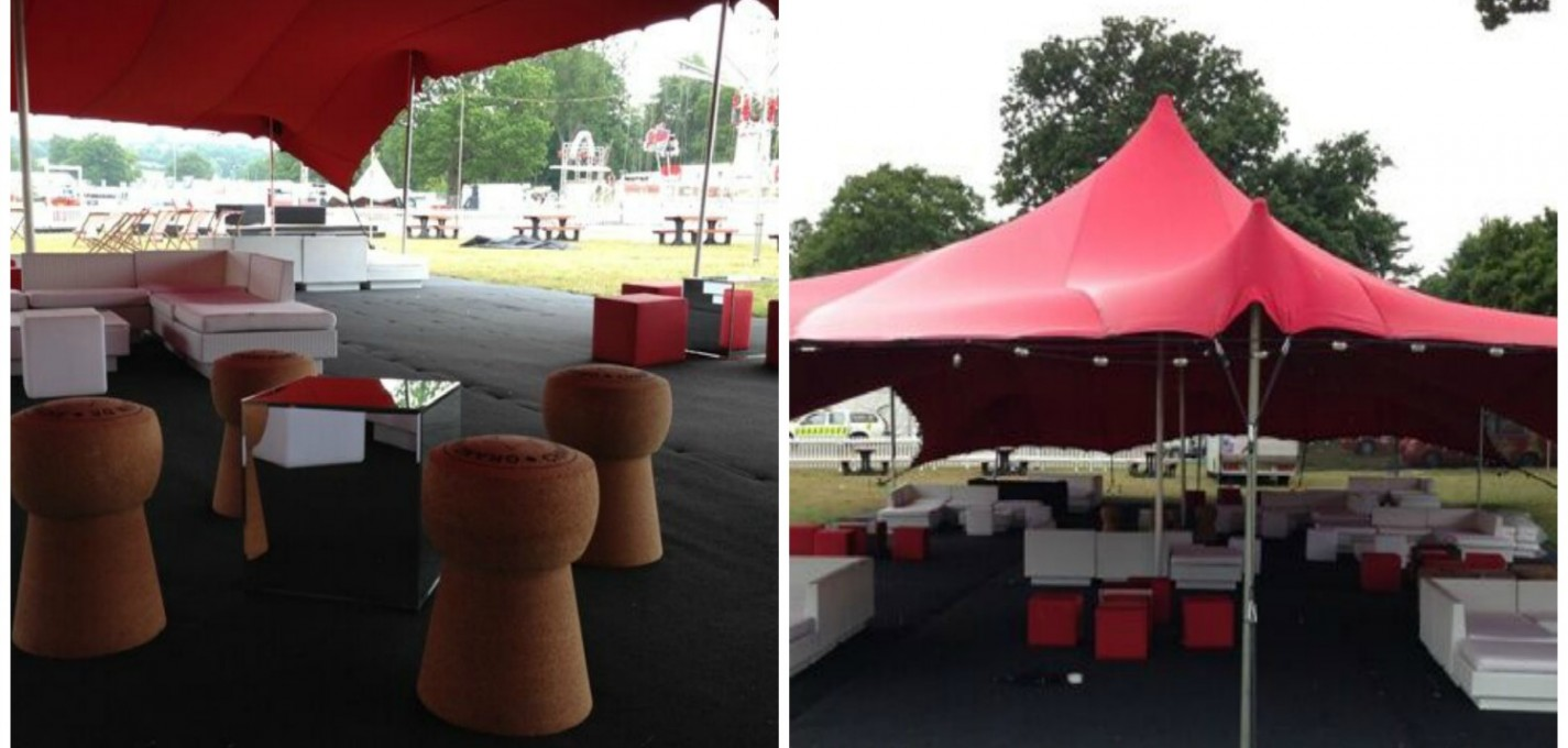 festival themed furniture hire