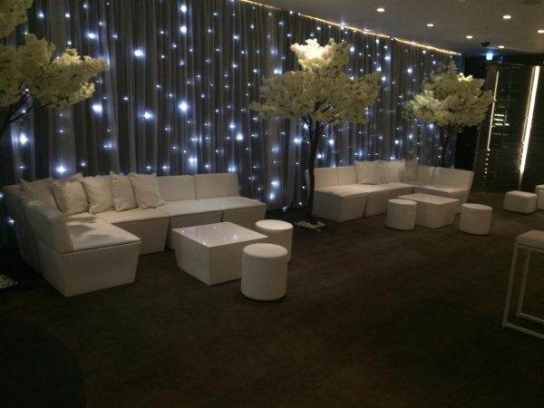 ana mandara sofas at Bulgari hotel