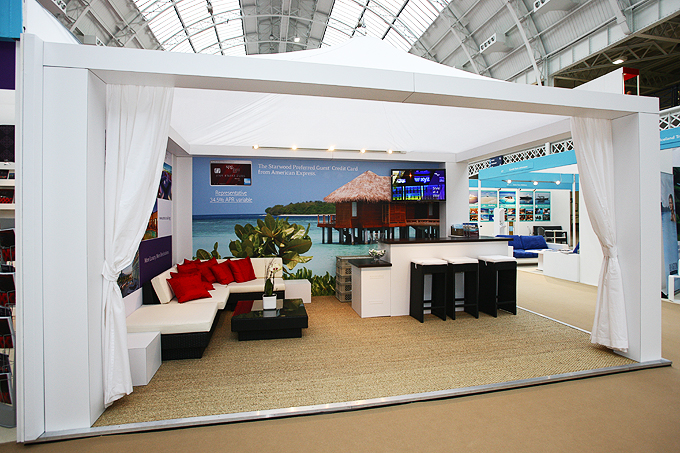 Exhibition ideas: a pop-up marquee style event