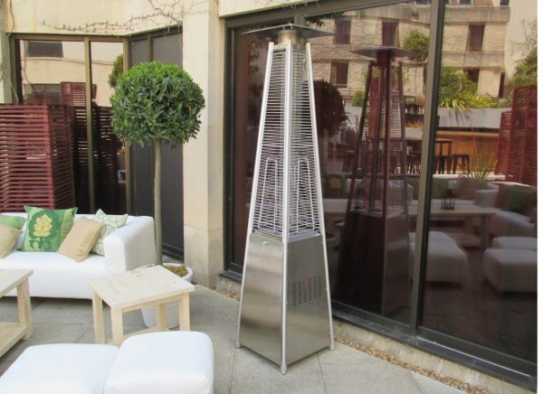athena patio heater outside