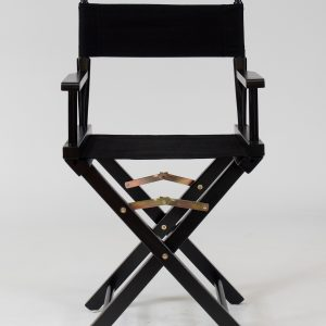 black directors chair hire for your event