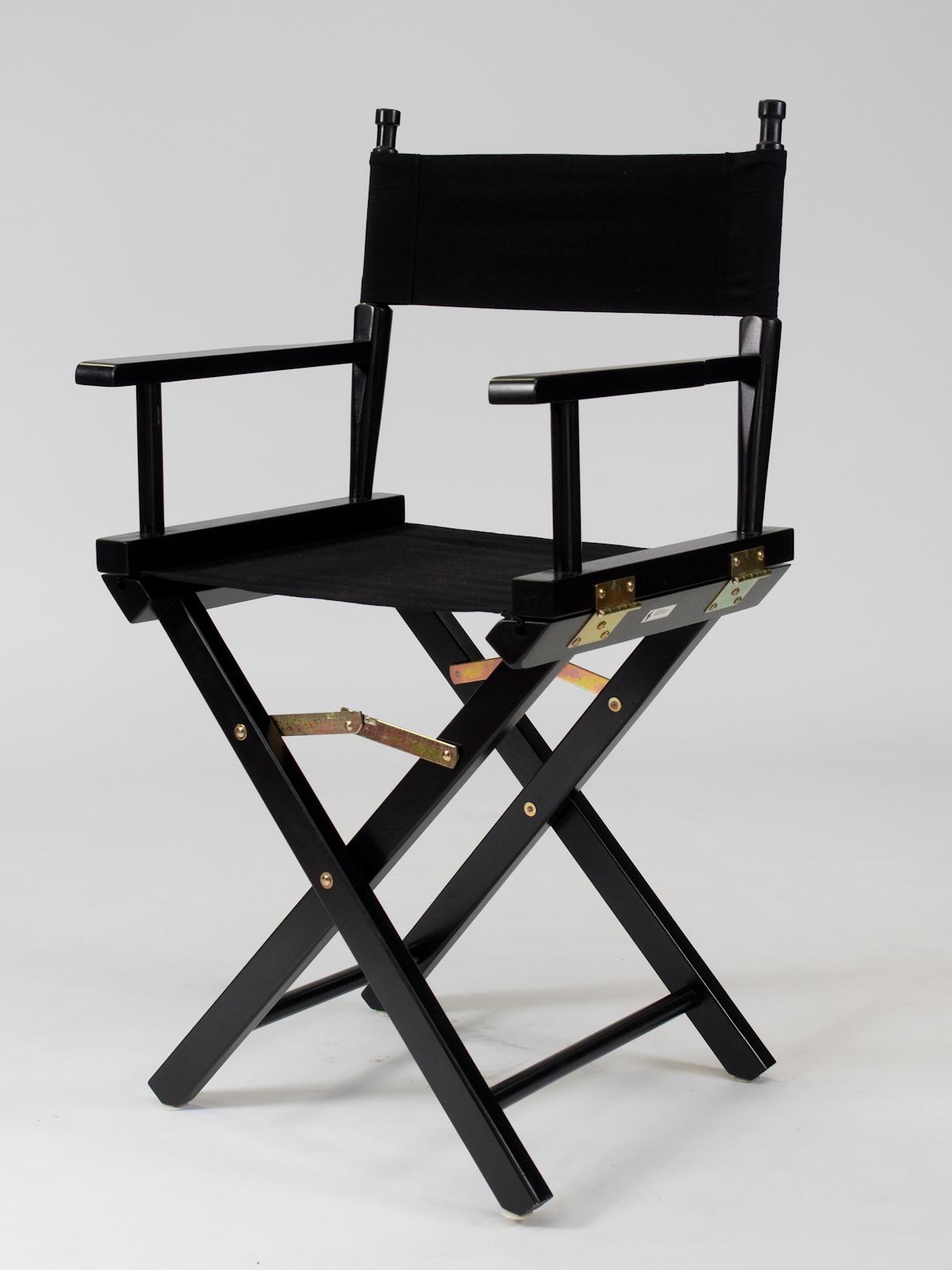 Black Directors Chair Hire Rio Lounge