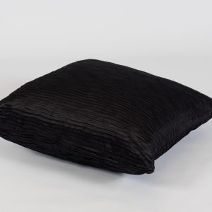scatter cushion in black