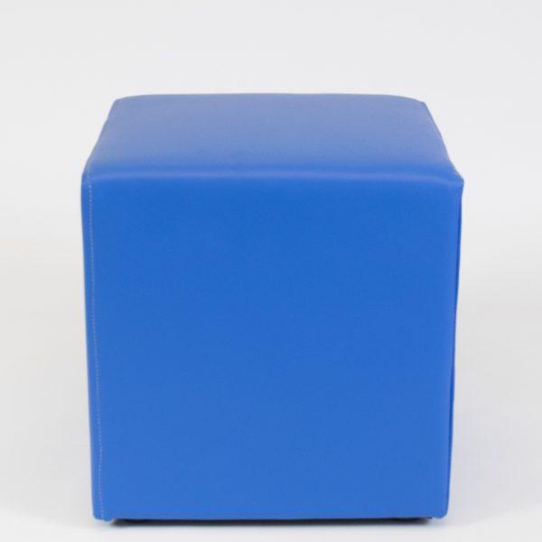 club ottoman - cobalt blue for hire