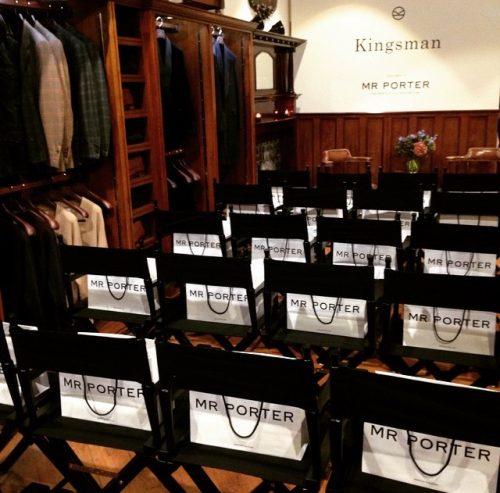 Black directors chairs
