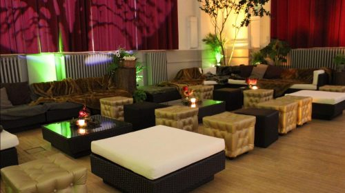 gold chesterfield ottomans with daybeds