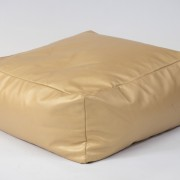 Gold floor cushion square shaped