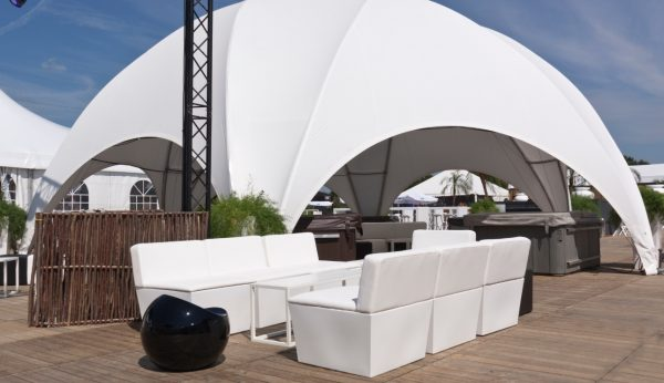 ana mandara sofa modules - hire now for your outdoor event