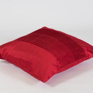scatter cushion in red