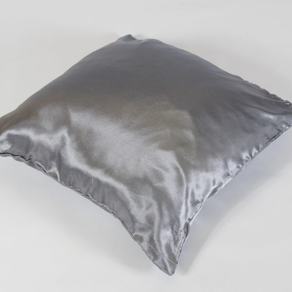 silver pewter scatter cushion