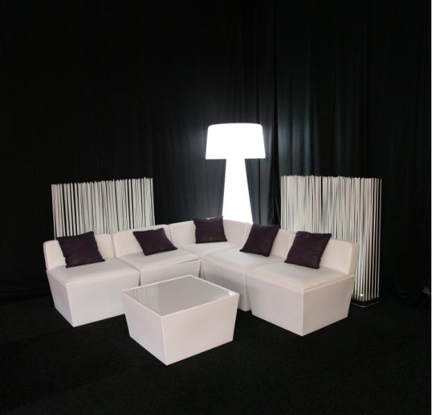 Ana Mandara Ottoman Hire Rio Lounge