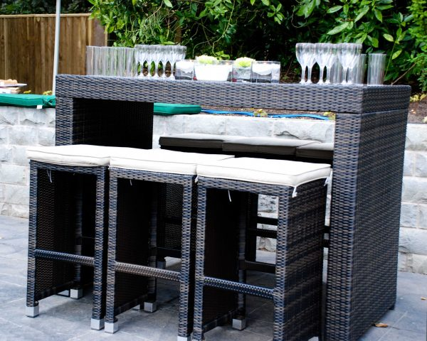 south beach bistro sets 6 seater
