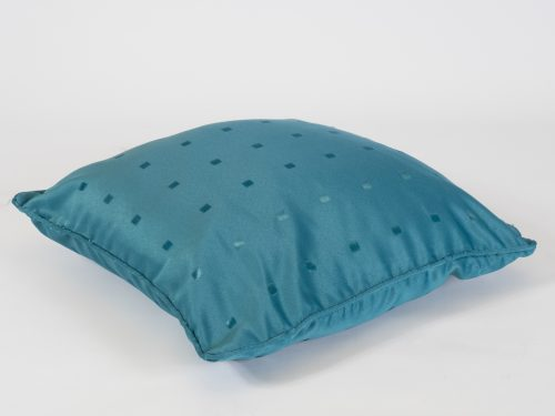 teal scatter cushion