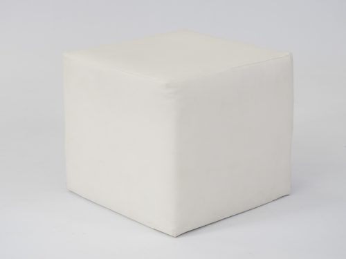 White cube seat to hire
