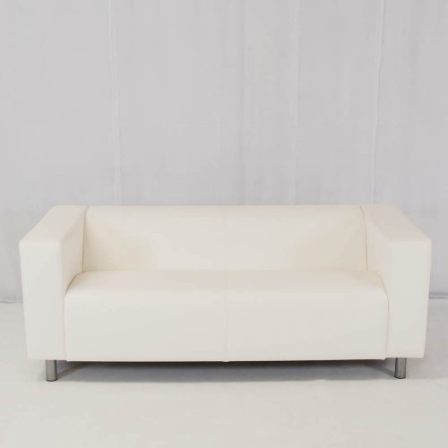 white sofa hire