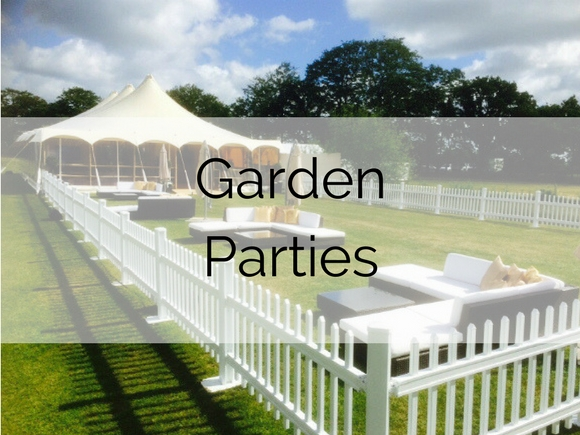 Garden Parties Furniture Hire