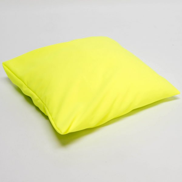 scatter cushion neon yellow for hire