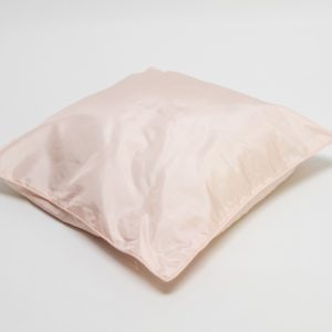 scatter cushion in blush pink for hire