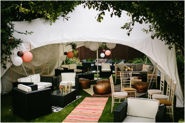 copper ottomans andaz in marquee