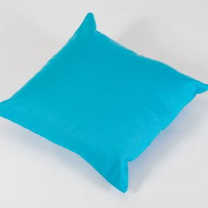 scatter cushion aqua blue for hire