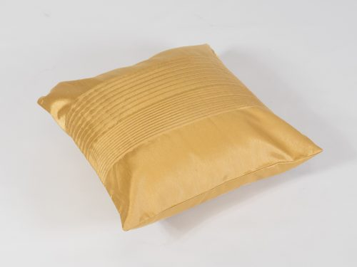 scatter cushion gold stripe for hire