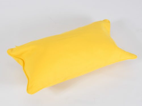 scatter cushion yellow for hire