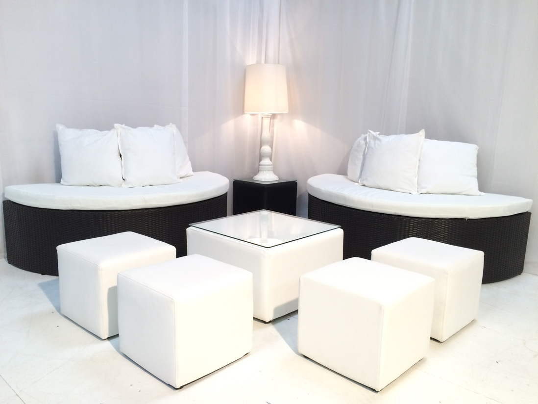 White Cube Seat Hire Rio Lounge