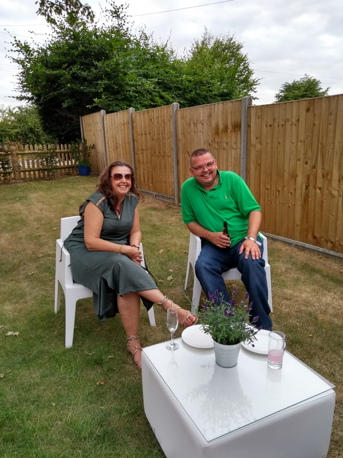 garden furniture hire for outdoor party