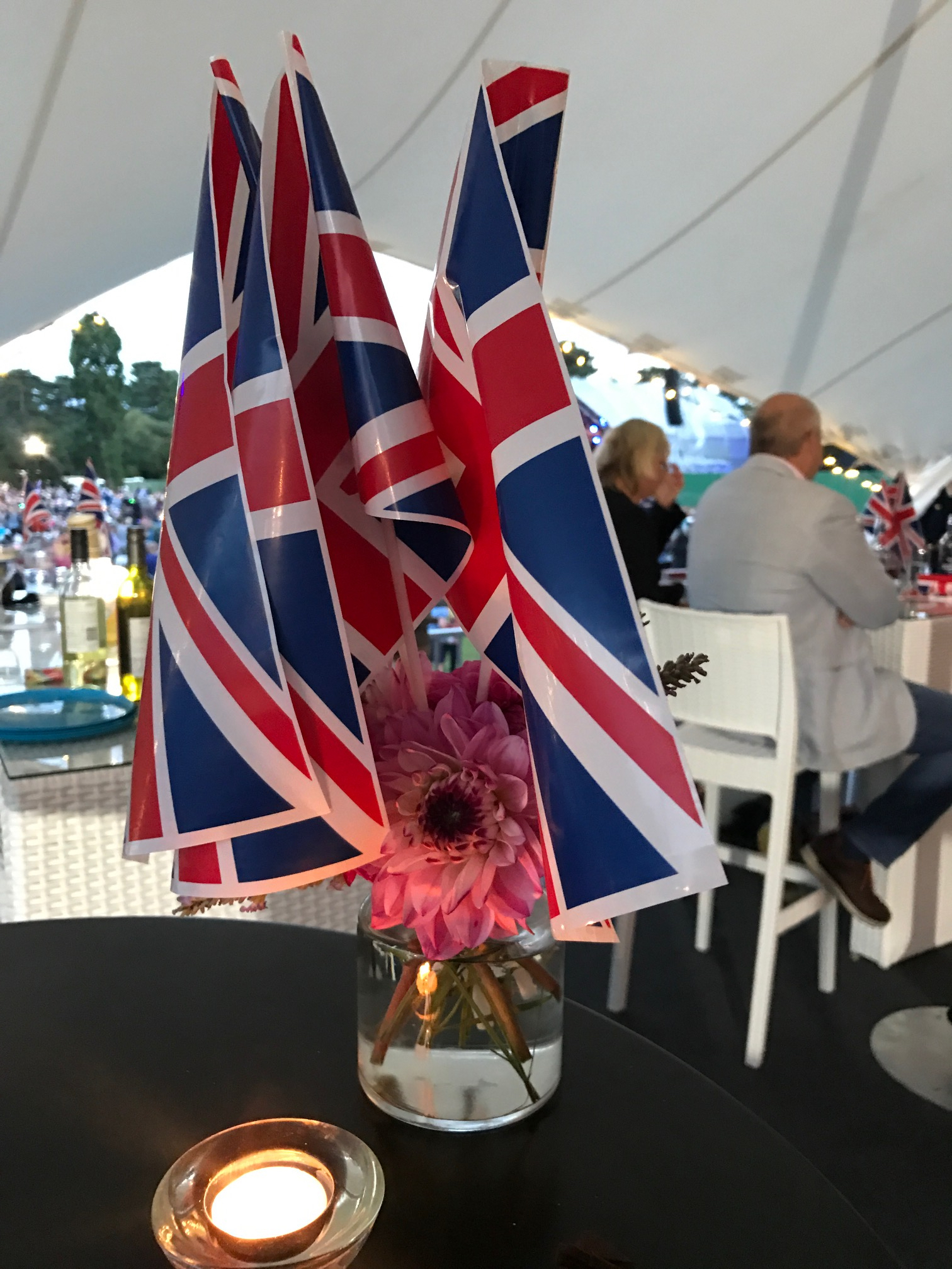union flag at Bedford Park concerts