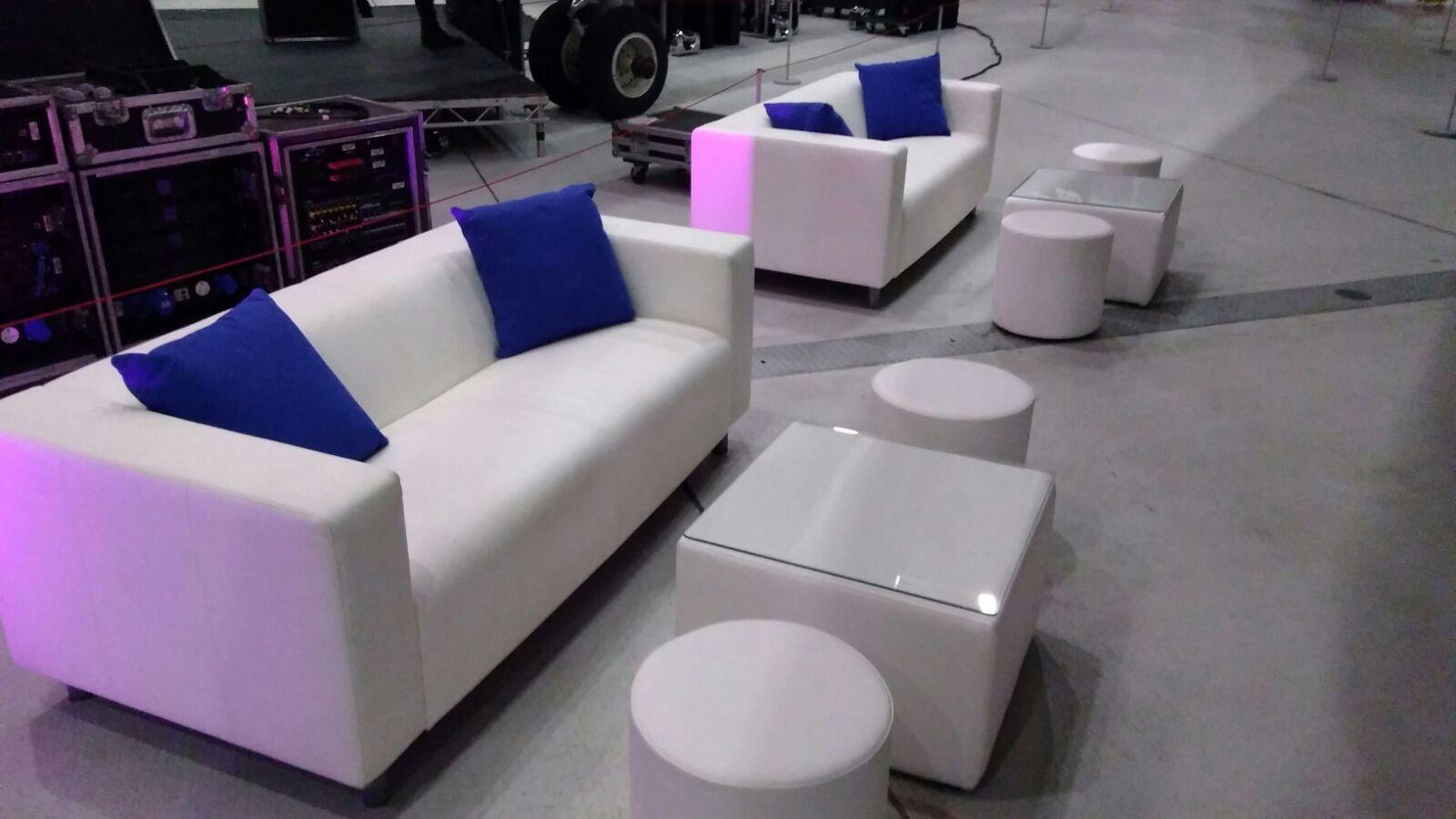 club lounge sofa hire