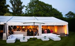 wedding furniture hire for an autumnal wedding
