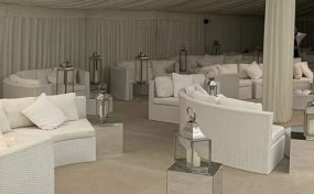 event furniture hire in London - Celebrity X Factor