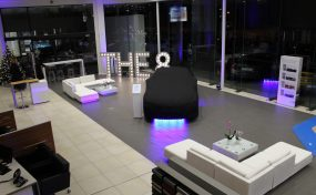 event furniture hire for BMW launch