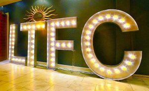 furniture hire company: luton town fc light up letters