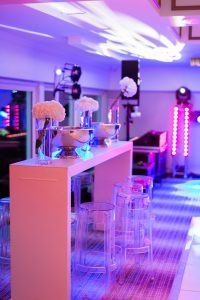 bar furniture hire at wedding