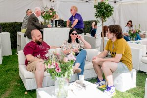 VIP furniture hire: food festival