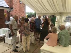 furniture hire for a garden party